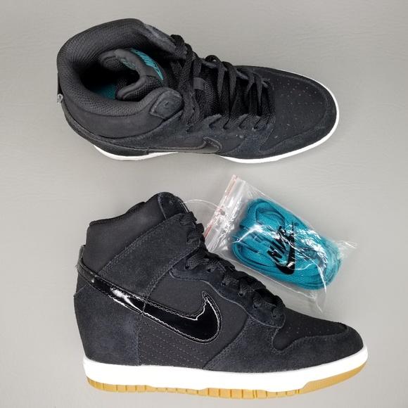 Men: Nike Dunk Sky High (Hidden Wedge Heel) Shoes Men's